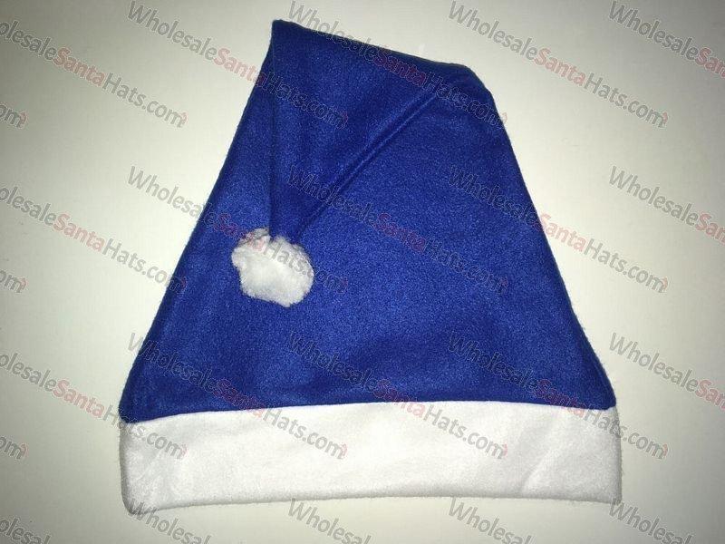 Blue Bulk Santa Hat