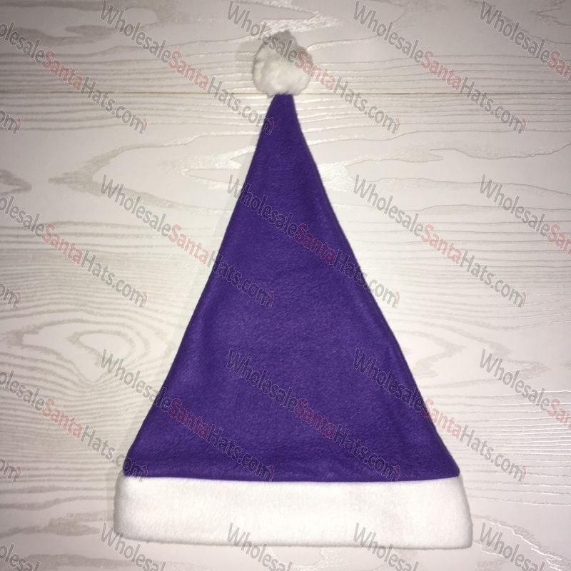 USA Bulk Purple Santa Hat
