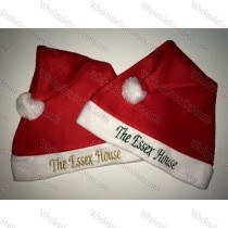 USA Bulk Red Santa Hat