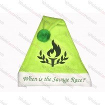 USA Bulk Light Green Santa Hat